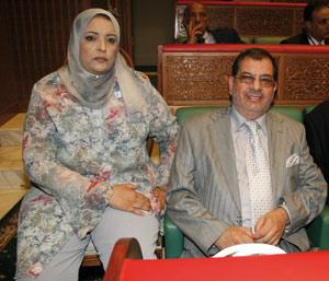 Aicha Sajid et Abderrazzak El Badaoui : «Nous menons une vie de couple exemplaire»