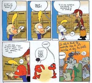 Bande dessinée : Titeuf et ses potes secouent la bd sud-africaine