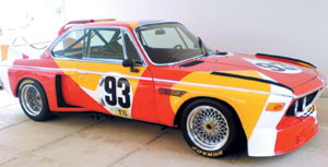 BMW Art Cars : 1ère au Maroc et en Afrique