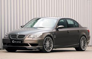 Le bolide : BMW M5 Hurricane par G-Power