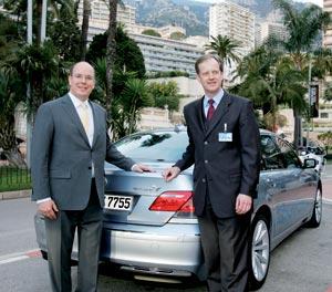BMW Hydrogen7 : Une limousine propre pour le Prince Albert II