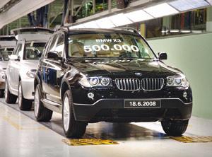 BMW X3 : Un demi-million d'exemplaires déjà produits