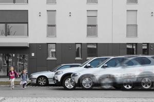 BMW étudie un freinage automatique pour les piétons