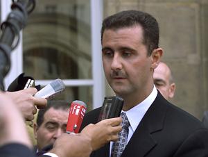 Bachar Al Assad précise le cadre de sa présence à Paris