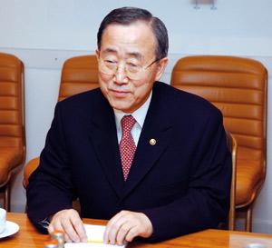 Ban Ki-moon assure SM le Roi de son engagement