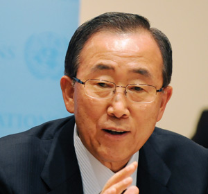Syrie : Ban Ki-moon hausse le ton