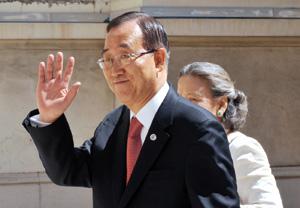 Ban Ki-moon appelle Khartoum à protéger les civils