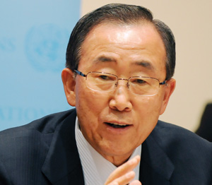 Nations Unies : Ban Ki-moon candidat à sa succession