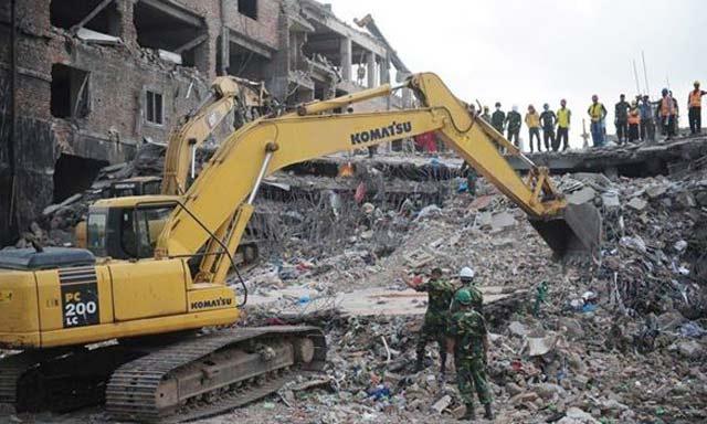 Bangladesh: 482 morts dans l'effondrement de l'immeuble