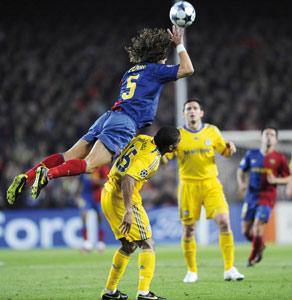 Le Barça privé de Puyol et Marquez face à Chelsea