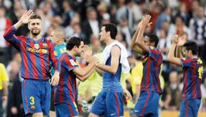 Le Barça gagne le «Clasico» et prend une option sur le titre