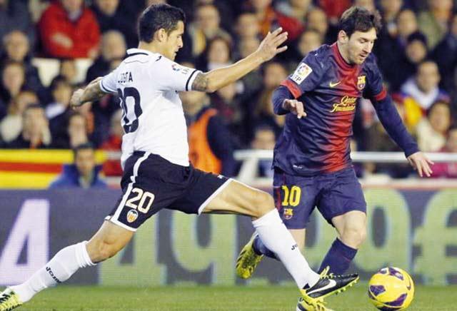 Championnat d Espagne : Le Barça accroché à Valence