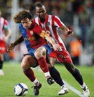 Barcelone en démonstration, Villarreal seul en tête