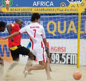 Mondial de beach soccer : Les éliminatoires africaines se dérouleront à Casablanca