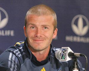 David Beckham se prépare pour le 7ème ciel