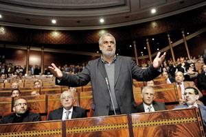 Grand oral de Benkirane devant les parlementaires