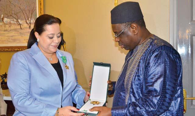Reçue par le président Macky Sall: Bensalah promeut de nouvelles niches de croissance au Sénégal