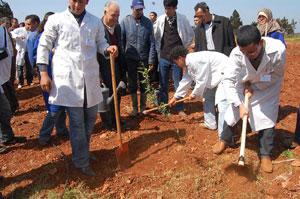 Berkane : Inauguration  d'une  ferme pédagogique d'oliveraie