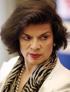 Bianca Jagger a perdu une bague à 200.000 euros