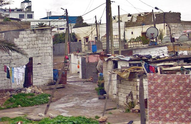 Démolition de la dernière baraque du bidonville Douar Sekouila à Casablanca