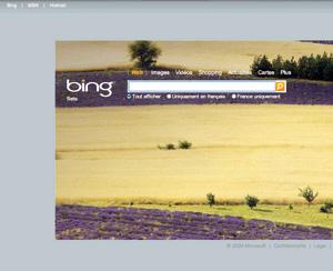 «Bing» : Le nouveau moteur de recherche de Microsoft