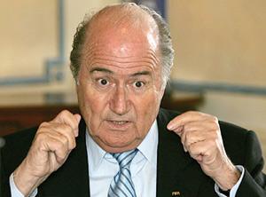 Blatter maintient  son quota «6+5» à Bruxelles