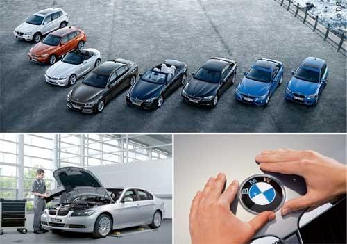 BMW Service Inclusive : Quatre ans d entretien gratuit sur toute la gamme