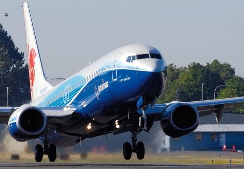 Record de commandes de 737-900ER chez Boeing