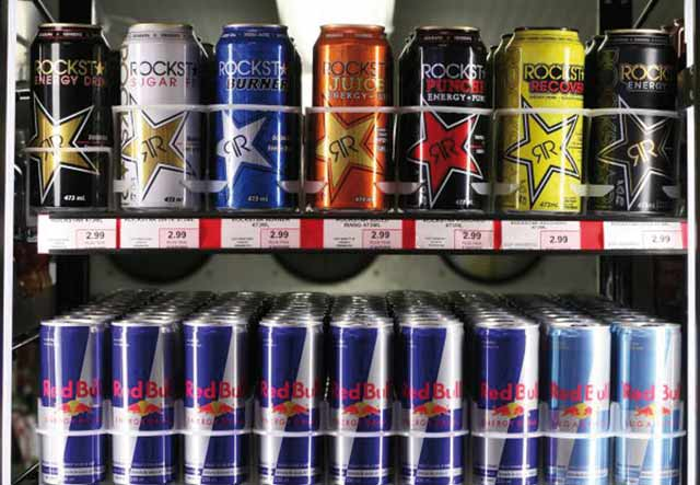 Mise en garde contre les boissons énergisantes