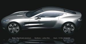 Le bolide : Aston Martin One-77