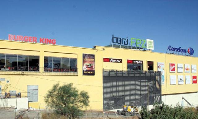Borj Fez, premier centre commercial  de la ville de Fès