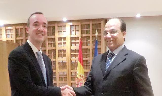 Le Boss de la DGSN en Espagne