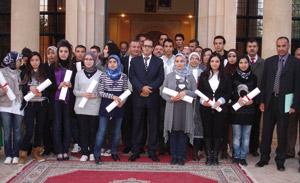 Oujda : Remise des bourses «Istihqaq» de la Fondation Mohammed VI