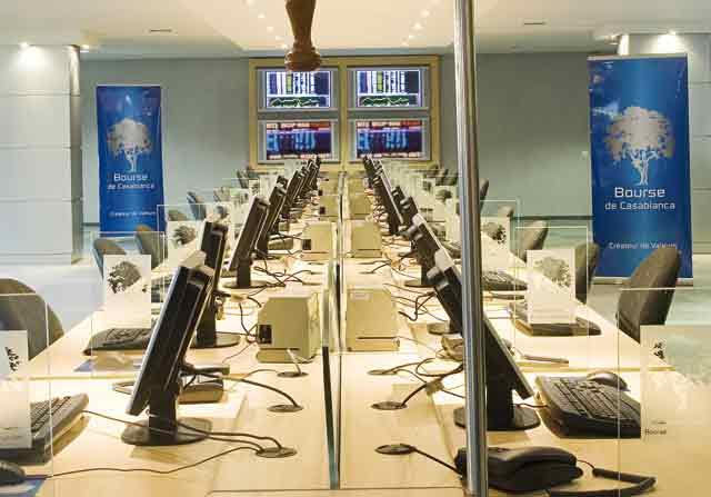La Bourse de Casablanca se stabilise à la mi-séance avec un faible volume des transactions
