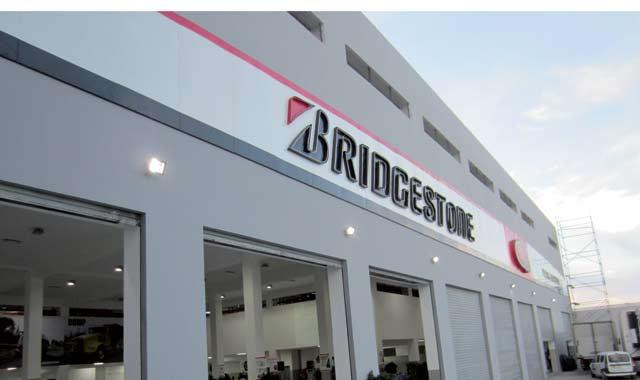 Bridgestone : Showroom « brand new » à Casablanca