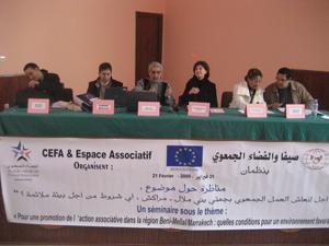 Beni Mellal : Le réseau associatif s'organise
