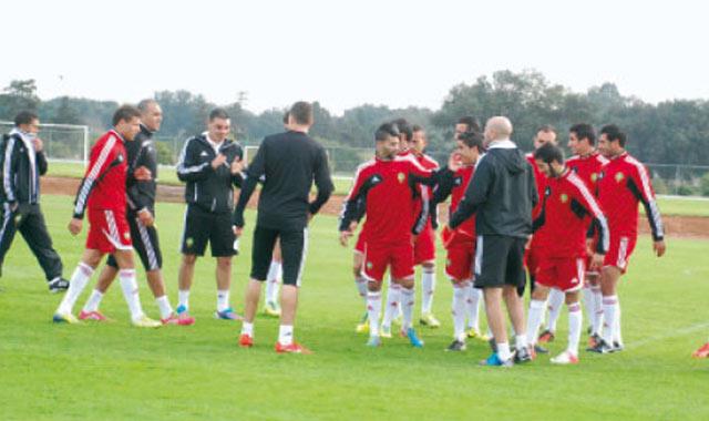L équipe nationale des joueurs locaux a pris l avion mercredi direction l Afrique du Sud