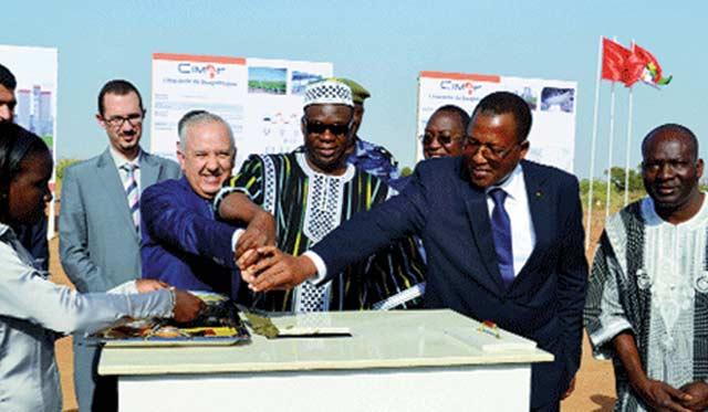 Du ciment  marocain pour  le Burkina