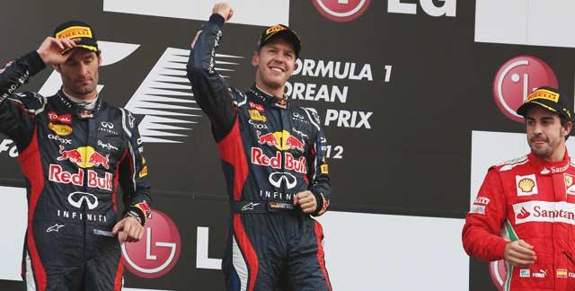 Formule 1 : Vettel caracole en tête