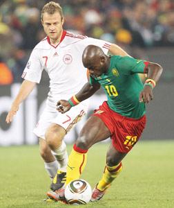 Cameroun-Danemark : le Cameroun premier éliminé du Mondial