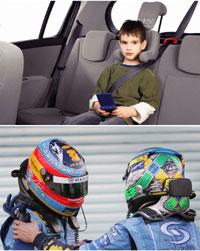 Sécurité enfant : Renault s'inspire de la Formule 1