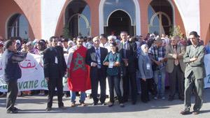Caravane de solidarité de Nador à Laâyoune