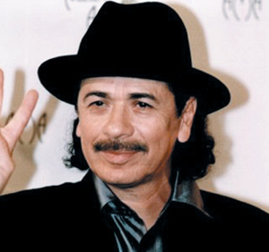 Légendes de la musique : Carlos Santana : «The Guitar heroe»