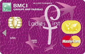 La BMCI lance une nouvelle carte baptisée MasterCard Ladies First !