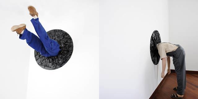 Exposition : L absurdité du quotidien révélée par Mounat Charrat