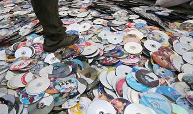 Plus que 400.000 CD piratés sont distribués chaque semaine au Maroc