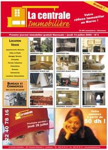 Centrale immobilière : un journal original