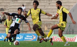 Coupe du Trône : le Difaâ d'El Jadida rejoint le FUS au dernier carré