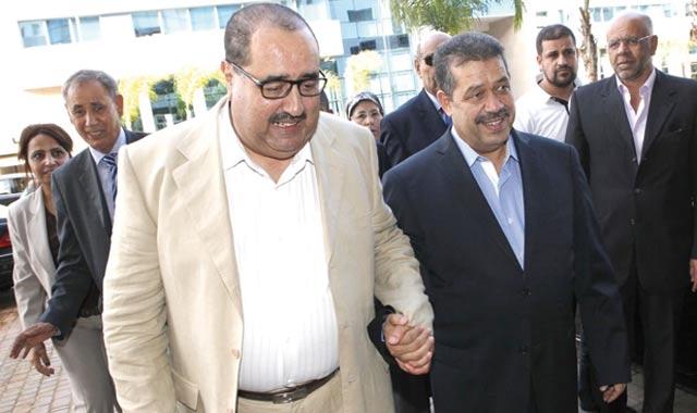 Chabat et Lachgar ensemble pour l histoire et la politique
