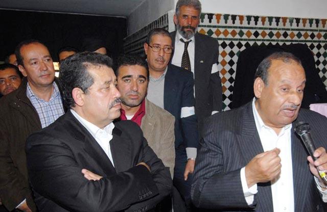 Hamid Chabat cède sa place à  El Kafi Cherrat à la tête de l UGTM
